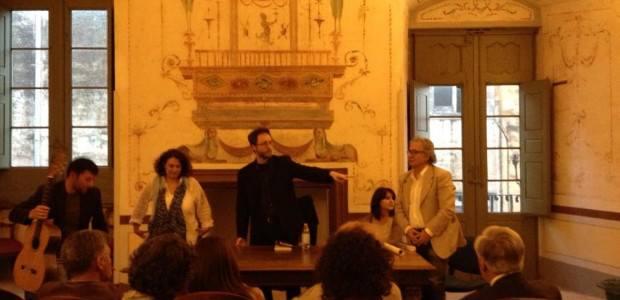 """Presentazione di """"Sentieri di notte"""" a Martina Franca (Palazzo Ducale)"""
