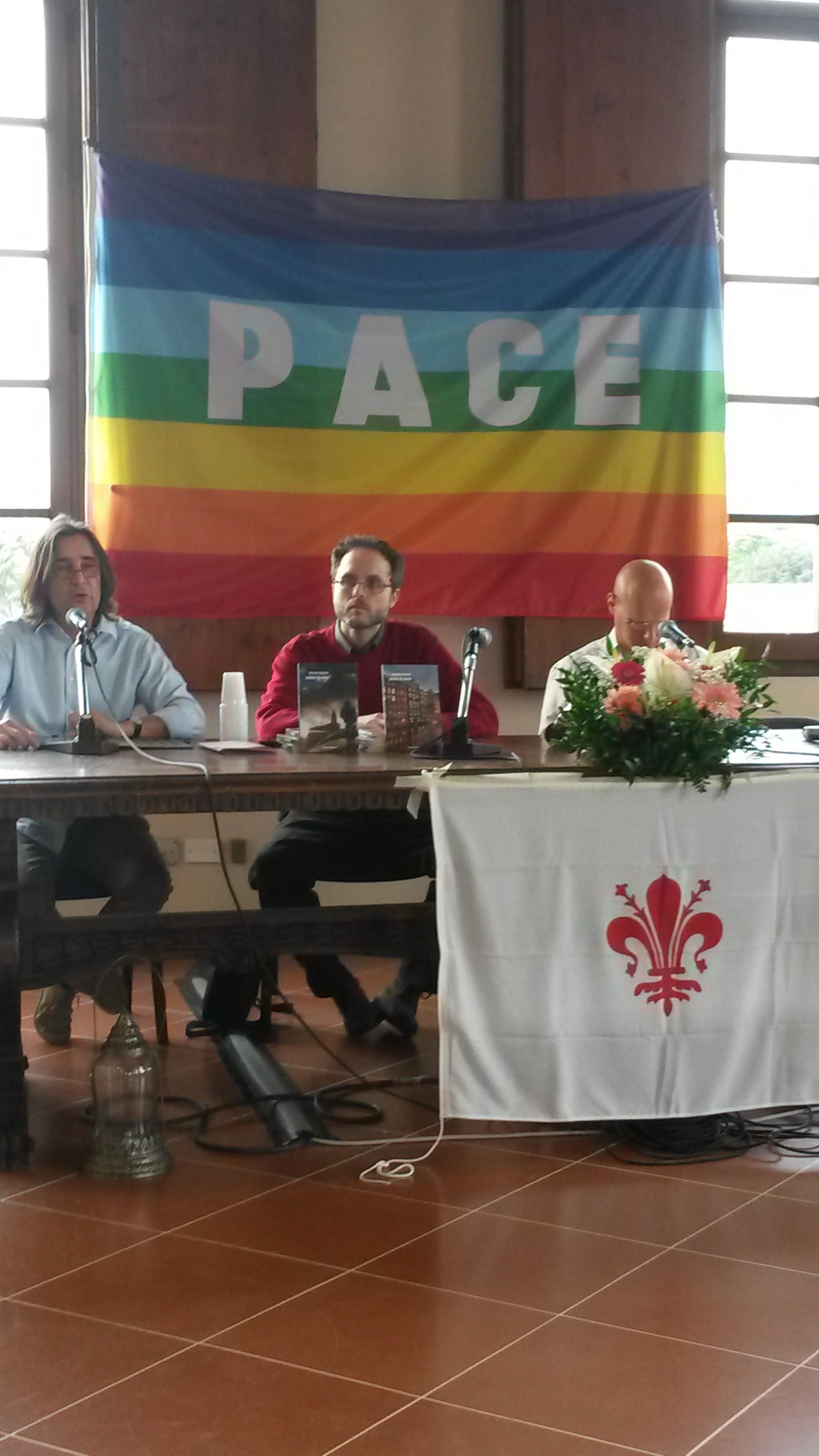 """Con Vieri Tommasi Candidi a """"Etica in Festa"""" (Firenze, aprile 2014)"""