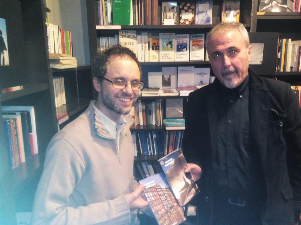 Con Sandro Battisti (foto di Vito Introna)